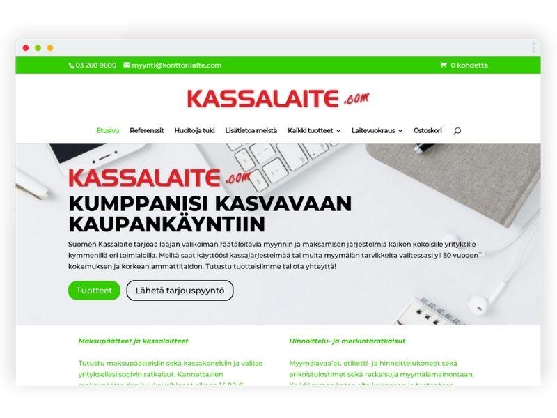 Kassalaite.com, referenssikuva